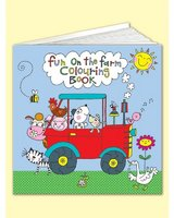 Square Colouring Book - Fun on the Farm